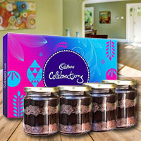 Special Jar Cakes with Assorted Cadbury Chocolates to Ambala