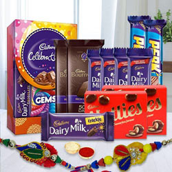 Cadburys Rakhi Gift Hamper to Aleppy