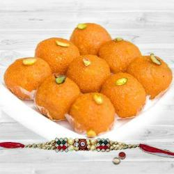 Haldirams Pure Ghee Ladoo with Rakhi to Ajmer