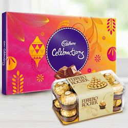Chocolate Duo for Mom to Alwar