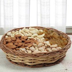 Immunity Boosting Dry Fruits Basket for Mummy to Alwar