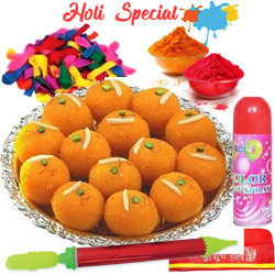 Holi Hamper N Ghee Laddoo to Bhiwani