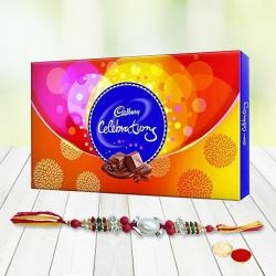 Rakhi, Roli Tika and Chawal with Cadbury Celebration to Belgaum