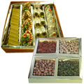 Assorted Sweets N Dry Fruits to Hyderabad
