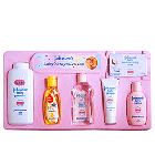 Sweet baby set from Johnson and Johnson for a new born baby to Chenganacherry