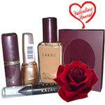 Compact, Nail Polish, Lipstick, Foundation and  Kajal From Lakme to India