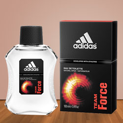 Adidas Team Force Eau De Toilette Spray for Men to Chandigarh