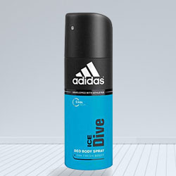 Adidas Ice Dive Deo Spray for Men to Barauli