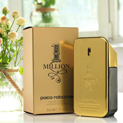 Elegant Paco Rabannes 1 million 100ml EDT just for men to Chandigarh