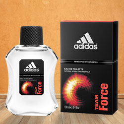 Stay Fresh with Adidas Team Force EDT for Men to Calcutta