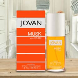 Special Aura with Jovan Musk Cologne for Men to Amlapuram