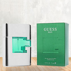 Smell Wonder with Guess EDT for Men to Gorakhpur