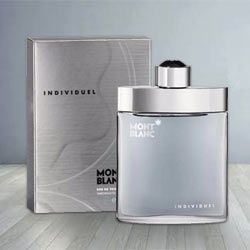 Vibrant Smell with Gents Special Mont Blanc Individuel EDT to Chandigarh