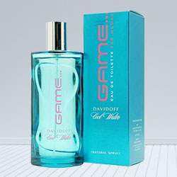 Wonderful Davidoff Cool Water Game EDT Spray 50 ml. for Girls to Kota
