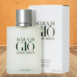 Ambrosial 50 ml. Aqua Di Gio Armani for Men with Amazing Fragrance to Amlapuram