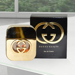 Captivating Ladies Special Gucci Guilty Black Pour Homme 47 ml. to Aluva