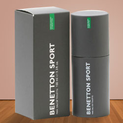 Exclusive Benetton Sport 100 ml. Mens Cologne to Barauli