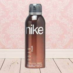 Lovely Fragrance of Nikes Musk Urban Gents 200 ml. Deodorant to Gurgaon