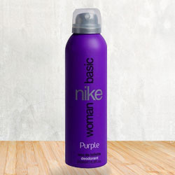 Attractive Fragrance of Nike Basic Purple Deodorant Spray to Bihar
