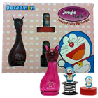 Kids Favourite Combination of Jungle Magic Catty Perfume with Doraemon Toy Spring and Sharpener to Bhavnagar