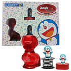 Popular Collection of Jungle Magic Perfume in Fruity Flavor with Doraemon Sharpener and Toy Figuring Fun Spring to Nashik