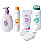 Glowing Look Arrangement of Oriflame Baby Care Products to Gurgaon