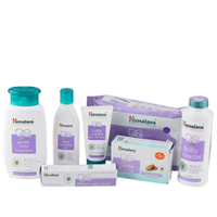Enthralling Baby Care Gift Pack From Himalaya with a Teddy to Aluva