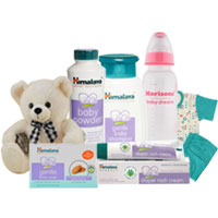 Admirable Himalaya Newborn Baby Care Gift Hamper to Hyderabad