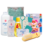 Comforting Johnson Baby Care Gift Arrangement to Ahmedabad