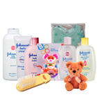 Marvelous Johnson Baby Care Gift Combo with Teddy to Ahmadnagar