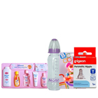Outstanding Johnson New Born Baby Care Gift Arrangement to Guwahati