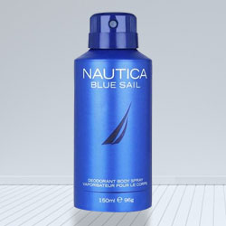 Zesty Looking Nautica Blue Deodorant to Baraut