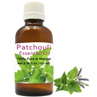 Delicate Pack of Patchouli Essential Oil to Varanasi