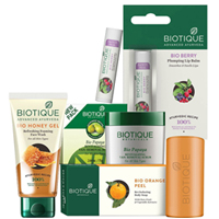 Glamorous Womens Essential Biotique Personal Care Gift Set to Aurangabad