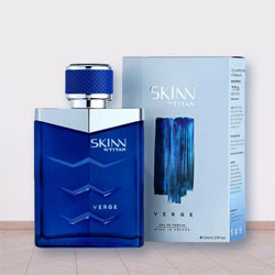 Remarkable Verge Fragrance for Men by Titan Skinn to Barauli