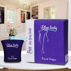 Exclusive Rasasi Blue Lady Perfumel to Baraut