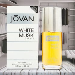Charismatic Jovan White Musk Cologne for Men to Attingal