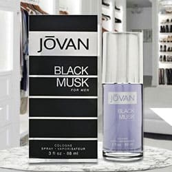 Amazing Jovan Black Musk Cologne for Men to Baroda