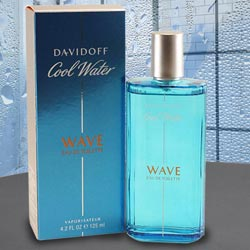 Sensational DAVIDOFF Cool Water Wave Man Eau de Toilette to Bangalore