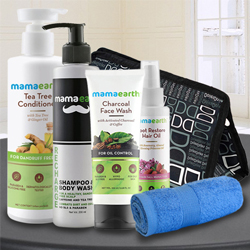 Feel Refreshed with Mama Earths Care Hamper for Men to Agroli