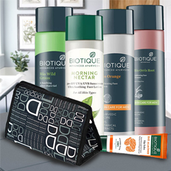 Wonderful Biotique Face Care Hamper for Mens to Agra