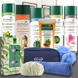 Remarkable Biotique Spa Hamper to Agra