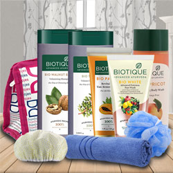 Wonderful Biotique Skin Care Hamper to Aalangulam