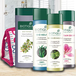 Marvelous Biotique Hair Care Hamper to Bairgania