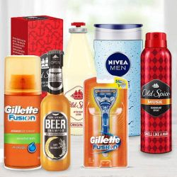 Marvelous Mens Refreshment Hamper to Adoor