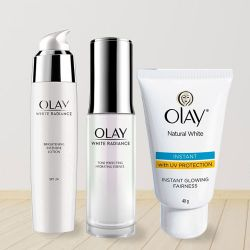 Marvelous Olay Fairness Cream Gift Hamper to Aligarh