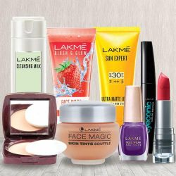 Exclusive Combo of Lakme Beauty Products to Aligarh