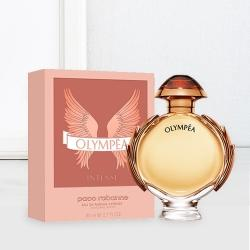 Sensational Ladies Gift of Paco Rabanne Olympea Intense Eau de Perfume to Almora