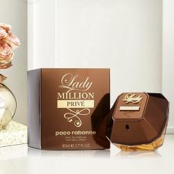 Refreshing Gift of Paco Rabanne Lady Million Prive Eau De Perfume to Aizwal