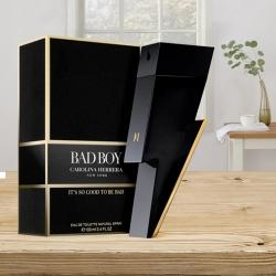 Charming Gift of Carolina Herrera Bad Boy Eau De Toilette for Men to Adoni